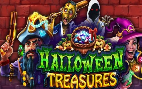 Halloween Treasures RTG Slot