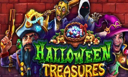 Halloween Treasures RTG Slot