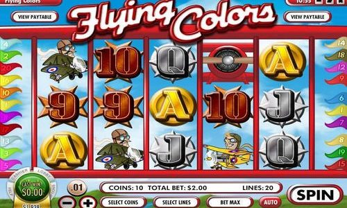 Flying Colors Slot Machine Review