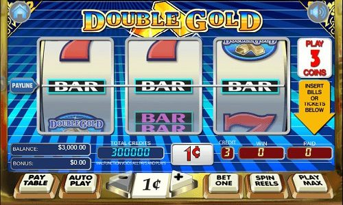 Double Gold Slot Machine Review