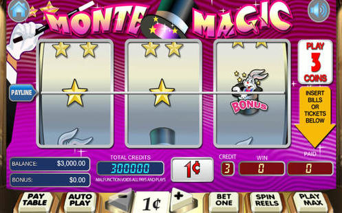 Monte Magic Slot Machine Review