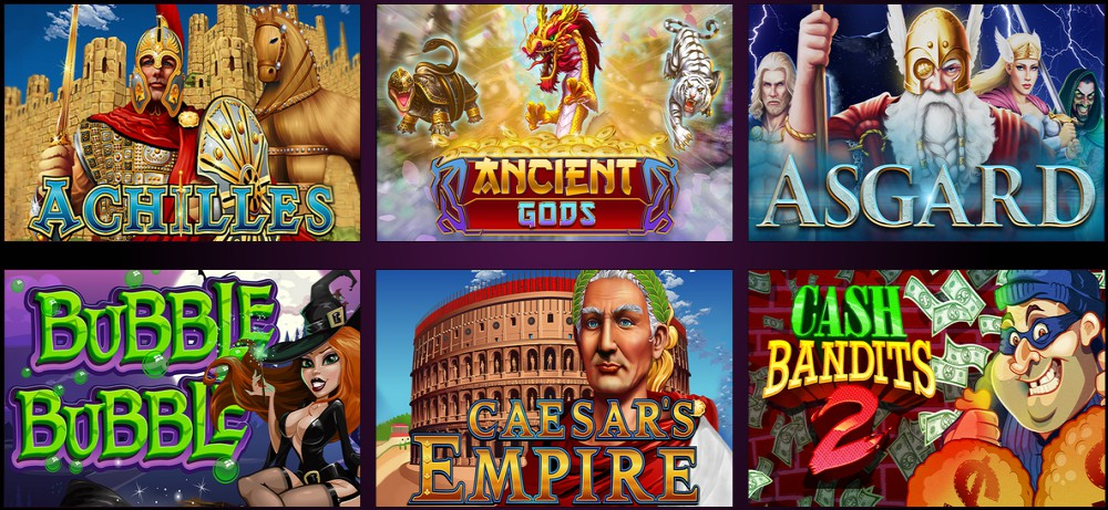 RTG casinos Video slot games