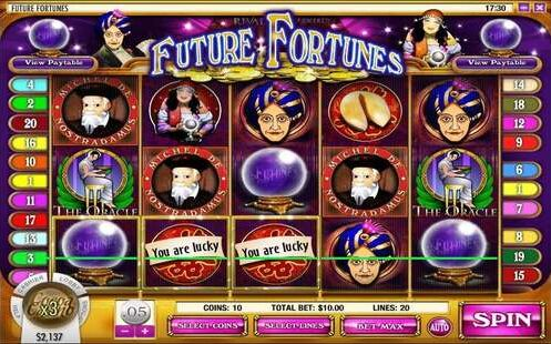 Future Fortunes Slot Machine Review