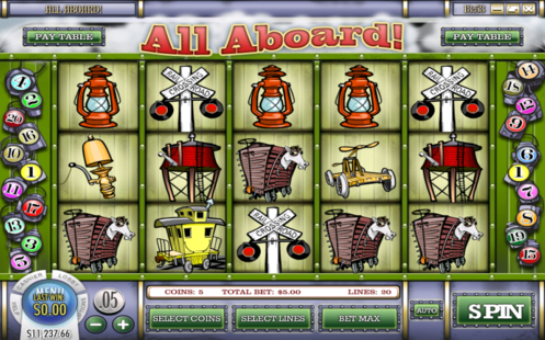 All Aboard Slot Machine Review