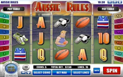 Aussie Rules Rival Slot Machine Review