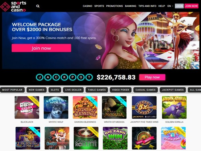 Sports and Casino Review